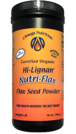 Nutri-Flax is a high-quality fiber supplement made from certified-organic, finely ground, low-fat flax seed fiber, processed and packaged without the damaging effects of light and oxygen.