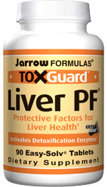 Liver PF combines herbs and other nutrients known to support the livers detoxification functions.* It is especially directed toward the Phase 2 enzymes, which remove toxins in the liver..