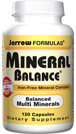 Iron free comprehensive formula of essential minerals, calcium, magnesium, vitamin K and vitamin D3, and important trace minerals such as, selenium, iodine and zinc..