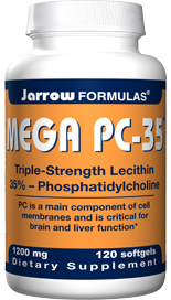 PC is a main component of cell membranes and is critical for brain and liver function.