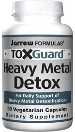Toxguard Heavy Metal Detox contains PectaSol Chelation Complex. PectaSols modified alginate chelates toxic metals within the digestive tract and prevents their reabsorption..