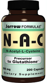 Substances known to reduce glutathione status are acetaminophen and alcohol..
