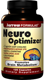 Neuro-Optimizer is a safe, natural way to enhance brain metabolism and cognition without the use of stimulants..