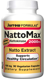 Nattokinase is a fibrinolytic enzyme that promotes healthy circulation by its effects on serine protease-mediated digestion of fibrin..