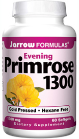 Jarrow Formulas Evening Primrose 1300 is a superior source of Gamma-Linolenic Acid (GLA), an important omega 6 fatty acid involved in human metabolism..