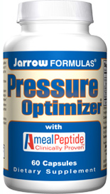 AmealPeptide is a patented extract of hydrolyzed casein which contains two tripeptides (Isoleucyl-Prolyl-Proline [IPP] and Valyl-Prolyl-Proline [VPP]) clinically studied for their effect on blood pressure. Pressure Optimizer helps promote healthy blood pressure levels..