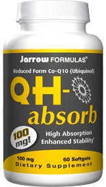 QH-Absorb contains the QSURGE formula - the most bioavailable and active antioxidant form of Coenzyme Q10..