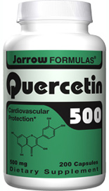 Quercetin is a potent antioxidant, providing cardiovascular protection by reducing oxidation of LDL cholesterol..