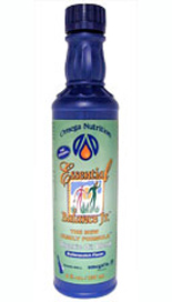 Essential Balance Jr. is a delicious and easy way to help your family get the nutritional support they need. Wheat-free and gluten-free Essential Balance Jr. is a premium organic oil blend with added lignans including Flax Oil*, Extra Virgin Olive Oil*, Pumpkin Seed Oil*, Flax particulate* (rich in Lignans), and natural butterscotch flavor..