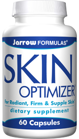 Jarrow FORMULAS Skin Optimizer is an advanced skin care formula with highly effective supporting nutrients. PomGuard, Hyaluronic Acid and GliSODin enhance skin integrity..