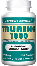 As an antioxidant, Taurine is used to quench the hypochlorite radical secreted by leukocyte immune cells. Taurines other biological functions include cellular growth, membrane stabilization, sperm motility, bile acid conjugation and neurotransmission..