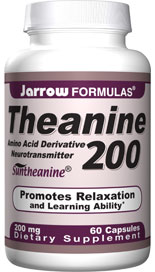 Theanine may improve learning ability and sensations of pleasure by affecting dopamine and serotonin neurotransmitters in the brain..