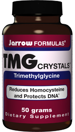 TMG Crystals is trimethylglycine extracted from sugar beets. Reduces Homocysteine and Protects DNA.