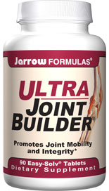 Ultra Joint Builder addresses total joint health by providing nutrients for proper cartilage formation, facilitating proper joint lubrication, and promoting a healthy inflammatory response within the joint..
