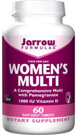 Women's Multi is a comprehensive formula for pre-menopausal women that incorporates the latest research on 