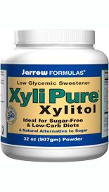 Xylitol has the same sweetness as sugar with 30% fewer calories..
