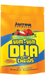 The predominant fatty acid in the brain, nervous system, and retina of humans is DHA, an omega-3 fatty acid..