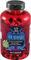 NGORGE combines powerful performance boosting, muscle-building substances in a single formula. NGORGE promotes intense muscle-pumps, drives anabolic nutrients deep into muscle cells to feed recovery, staves off fatigue and enhances ongoing muscular performance..