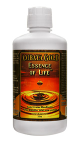 Essence of Life is Ambaya Golds flagship formula. It can greatly contribute to Renewing, Rejuvenating, and Revitalizing your entire system..