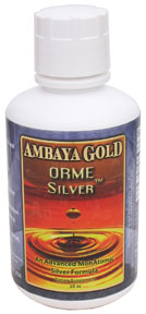 Ambaya Golds ORME Silver is a natural immune booster -  quickly absorbed and used by the body..
