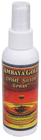 ORME Silver formula is a natural addition to help boost your immune system..