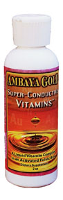 Ambaya Golds Super-Conductive Vitamin Formula is a blend of anti-oxidant vitamins, minerals, enzymes, and amino acids designed to replenish the body while helping to maintain stronger and healthier systemic functioning..