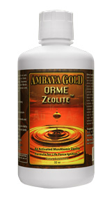 Ambaya Golds ORME Zeolite formula deeply cleanses and detoxes while energizing your entire body. More than just a cleansing formula, it delivers essential trace minerals, elements, and amino acids - igniting the bodys natural conductivity for greater health and vitality..