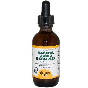 100% Natural-Source Vitamin E with Mixed Tocopherols and Wheat Germ Oil. 20,000 IU Per Container..