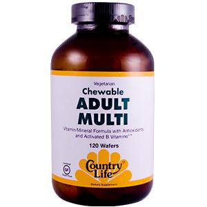 Vitamin/Mineral Formula with Antioxidants and Activated B Vitamins.