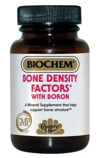 A comprehensive bone support formula containing Calcium as Hydroxyapatite, Citrate/Malate, and Carbonate. Bone Density Factors also contains synergistic vitamins and minerals to support bone metabolism..
