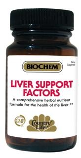 Liver Support Factors features herbs from China, Europe & India with essential nutrients & nutraceuticals to support healthy liver function. The liver is the most chemically complex organ in the body..