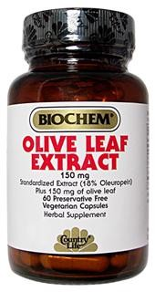 Olive Leaf Extract contains the highest quality and most biologically active Olive Leaf Extract. Olive Leaf Extract is a source of Oleuropein and Elenolic Acid. Vegetarian/Kosher. Olive leaf has been used in folk medicine to treat  constipation, diabetes, hypertension, obesity, rheumatism, and excess water retention, fevers and for the topical treatment of wounds or infection. .