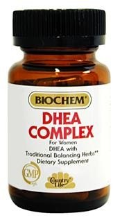 A powerful combination of DHEA, vitamins, and botanical extracts which have been demonstrated to help support physiological and biochemical processes in women. Vegetarian/Kosher.