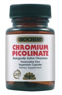 Provides a combination of Vitamin B-6 and Chromium as Chromium Picolinate, both of which play a role in glucose and lipid metabolism. Vegetarian/Kosher.