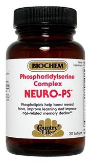 Phosphatidylserine is a phospholipid which helps provide structural, physiological, and biochemical support to cell membranes, particularly in the brain..
