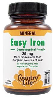 More bioavailable than inorganic sources of iron. Assists in maintaining adequate body iron stores. Low gastrointestinal side effects..