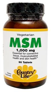 MSM is a natural bioavailable form of sulfur, an essential trace mineral. Sulfur is essential for numerous electrochemical, catalytic, and structural functions in human metabolism..