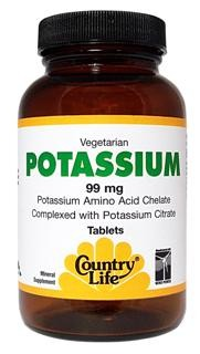 Vegetarian/Kosher Potassium is necessary for fluid balance..