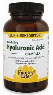 Hyal-Joint is clinically proven to improve joint mobility at 80 mg per day. Hyal-Joints patent-pending process provides a more bioavailable form of Hyaluronic Acid than other standard collagen and fermentation-derived forms. 2 to 5 times more active than other standard forms of oral Hyaluronic Acid..