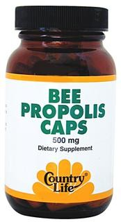 Derived from 100% pure Bee Propolis extract.