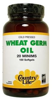 Country Life uses the highest-quality cold pressed wheat germ oil - a natural source of Vitamin E and unsaturated fatty acids..