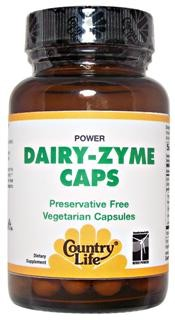 Dairy-Zyme with natural active plant enzymes to support the digestive system and help with dairy digestive discomfort..
