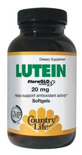 Lutein is a carotenoid which is found in abundance in fruits and vegetables and is also found in the marigold plant. It has been identified as one of the carotenoids present in macular pigment..