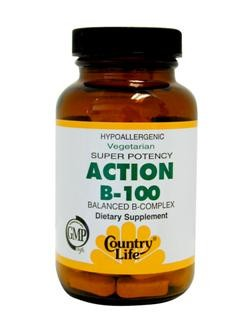 Balanced Vitamin B Complex in a vegetarian & Kosher formula..
