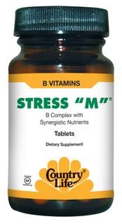 B Complex with Synergistic Nutrients to aid in 'Stress Management'.