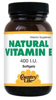 100% Natural-Source Vitamin E.
