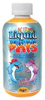 t's a great way for parents to provide the daily nutrition that is so vital to growing children! Liquid Dolphin Pals is all natural, complete and balanced with appropriate, gentle levels of essential vitamins and minerals..