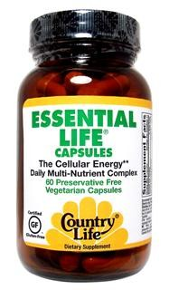 The Cellular Energy Daily Multi-Nutrient Complex, Preservative Free Vegetarian Capsules.