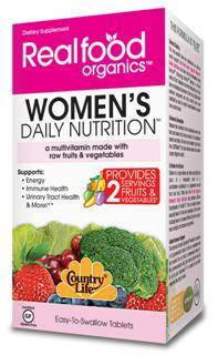 Our Womens Daily Nutrition multivitamin offers more than a vitamin and mineral formula. It also includes enzymes, phytonutrients, and glyconutrients..
