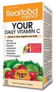 Country Lifes Your Daily Vitamin C supplies 100%